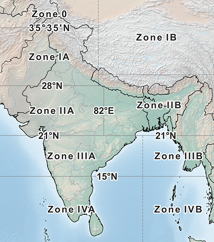 Indian Grid System - Information about the Indian Grid, it's usage